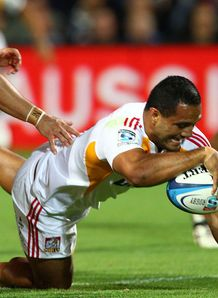 Lelia Masaga scores chiefs Western Force 2012