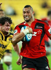 Robbie Fruean Crusaders v Hurricanes 2012