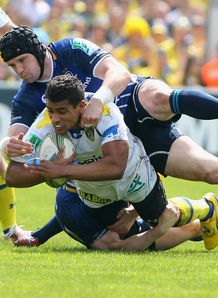 Shane Jennings Wesley Fofana Clermont leinster 2012