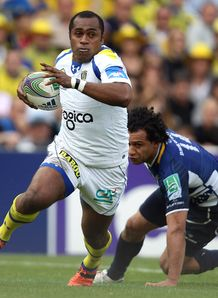 Sitiveni Sivivatu of ASM Clermont Auvergne v leinster