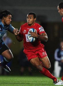Will Genia on a break for the Reds