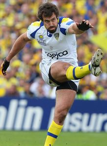 Brock James Clermont Auvergne Heineken Cup semi-final