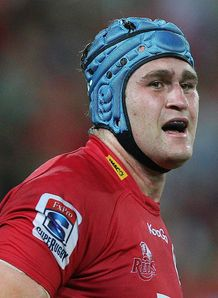 James Horwill Queensland Reds v Western Stormers Super Rugby Suncorp Stadium Brisbane Apr 2012