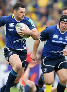 Rob Kearney Cian Healy Leinster Heineken Cup semi-final v Clermont