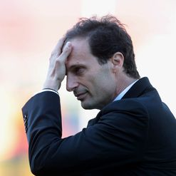 Allegri: Down in the dumps