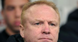 McLeish arrives at Forest
