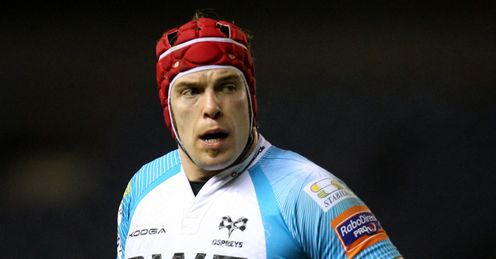 Alun Wyn Jones Ospreys 2012 pro12