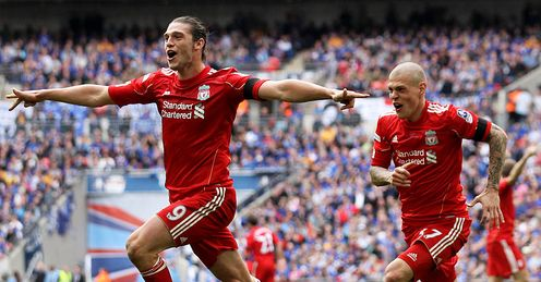 Andy Carroll Liverpool FA Cup Semi Final