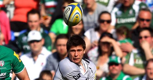Ben Youngs Leicester grey long pass