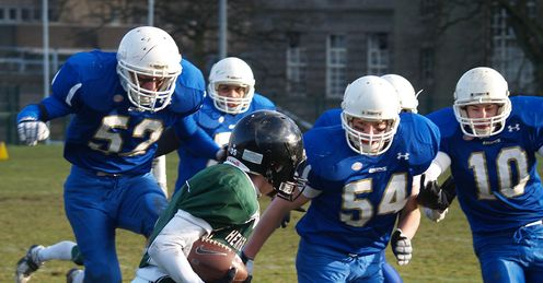 Birmingham Lions take on the Hertfordshire Hurricanes on Saturday (pic c/o Mike Hinton)