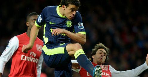 Franco Di Santo goal Arsenal v Wigan