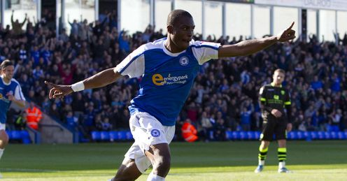 Gabriel Zakuani: Heading for the operating table after steering Peterborough to safety