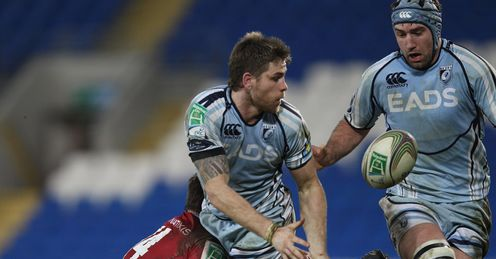 Gavin Evans Cardiff Blues 2012