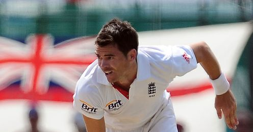 Seams a handful: Anderson took nine wickets at 21.77 against Sri Lanka