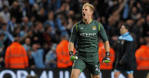 Joe Hart Manchester City United Premier League