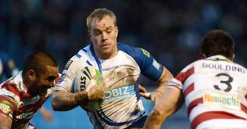 Jon Hepworth Featherstone v Wigan Challenge Cup