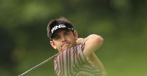 Driven: Oosthuizen's power off the tee should stand him in good stead in Malaysia