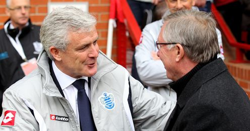 United front: Can Hughes sink his former club and, in turn, do a favour for Sir Alex?