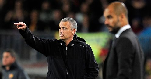 Mourinho: got the better of Guardiola on Saturday