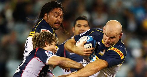 Stephen Moore Brumbies v Rebels 2012