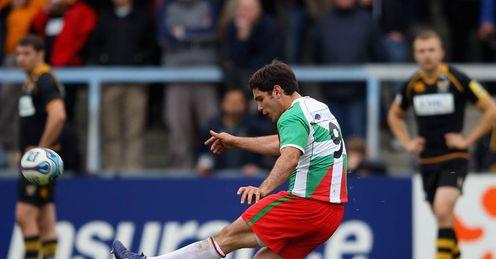 Wasps v Birarritz Dimitri Yachvili penalty