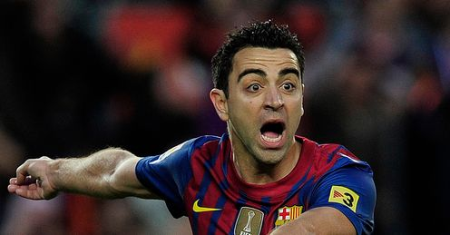 Xavi: one of the ageing members of Barcelona&#39;s squad