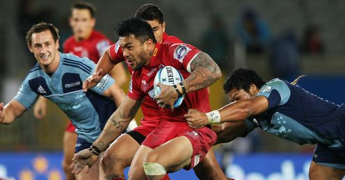 Digby Ioane Queensland Reds v Auckland Blues Eden Park Super Rugby Apr 2012