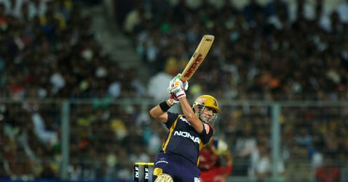 Gautam Gambhir Kolkata Knight Riders v Royal Challengers Bangalore IPL Eden Gardens Apr 2012
