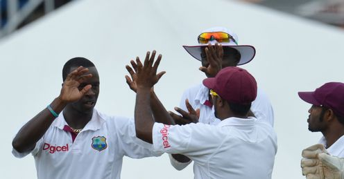 Kemar Roach West Indies v Australia 2nd Test day 5 Queens Park Oval Port of Spain Trinidad Apr 2012