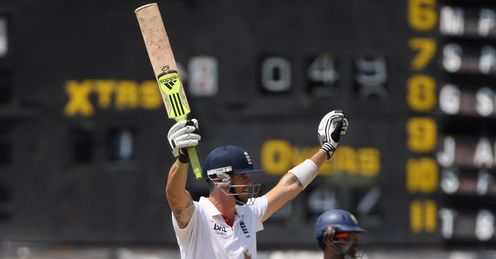 kevin pietersen winning runs england colombo