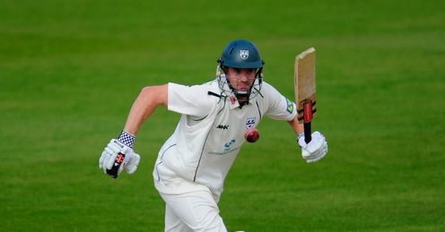 Michael Klinger Worcestershire v Nottinghamshire County Championship Trent Bridge Apr 2012