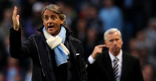 Title decider?: Jamie says Newcastle v Man City could hold the key to where the Premier League trophy ends up