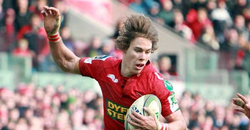 Liam Williams - Scarlets - Jan 2012