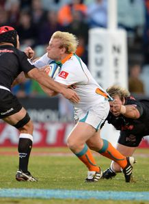 Cheetahs v Sharks Adrian Strauss