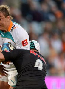 Cheetahs v Sharks Coenie Oosthuizen