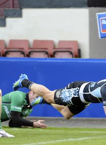 DTH Van Der Merwe Glasgow Warriors 2012