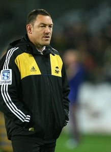 Mark Hammett Hurricanes coach 2012