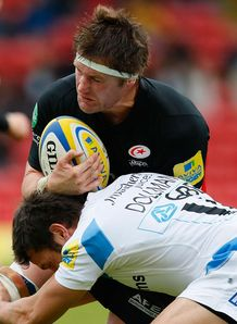 Saracens Ernst Joubert 2012