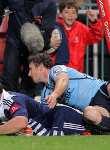 Tiaan Liebenberg Stormers v Waratahs 2012