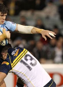 Tom Carter Waratahs v Brumbies 2012