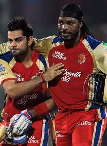 Gayle tears Delhi apart