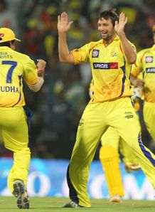 Chennai down Daredevils