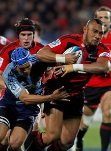 Robbie Fruean crusaders v blues