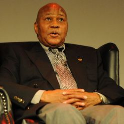 The big boss: Kaizer Motaung
