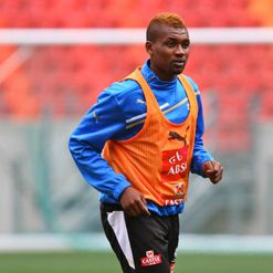 Mphela: Main man up front
