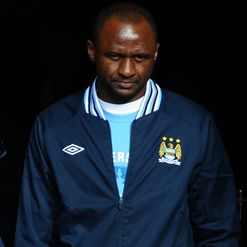 Vieira: Wants pressure off City