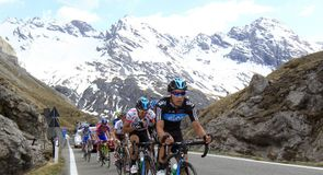 Team Sky again figured prominently in the final stages of the epic 219km mountain test.