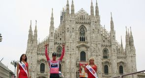 Central Milan provided the setting for the concluding time-trial of this year's Giro d'Italia