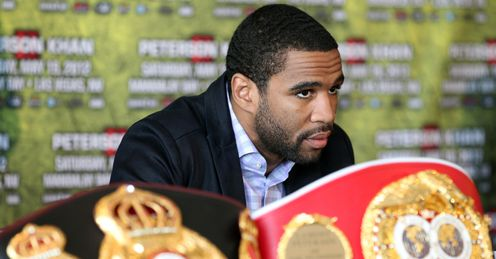 Peterson: Stripped of his WBA title but allowed to keep his IBF belt after his ban was overturned