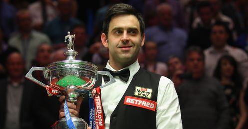 O'Sullivan: conquered Carter to win at the Crucible for a fourth time